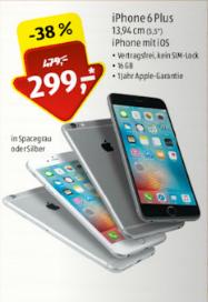 [Lokal Aldi Süd 52351 Düren] Ab 14.12. IPhone 6 Plus 16 GB für 299,- €. PVG 399,- € (Idealo)