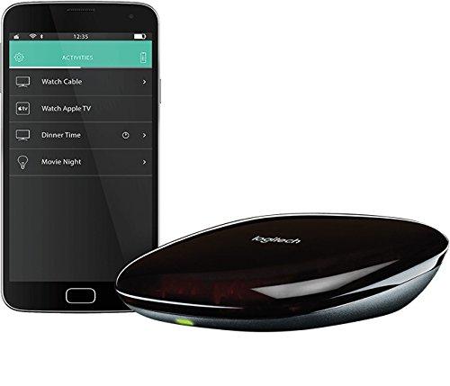 [amazon.es] Logitech Harmony Hub (funktioniert mit Amazon Alexa) schwarz