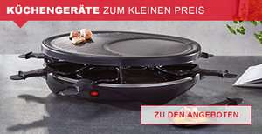 2 Raclette Grills zu je 14,83 € inklusive Versandkosten (XXXL Shop)