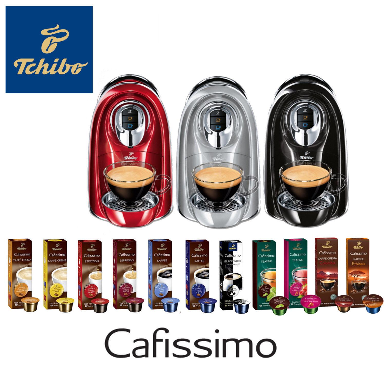 Tchibo Cafissimo COMPACT Kapselmaschine + 110 Kapseln für 35 Euro [Ebay-Tchibo]