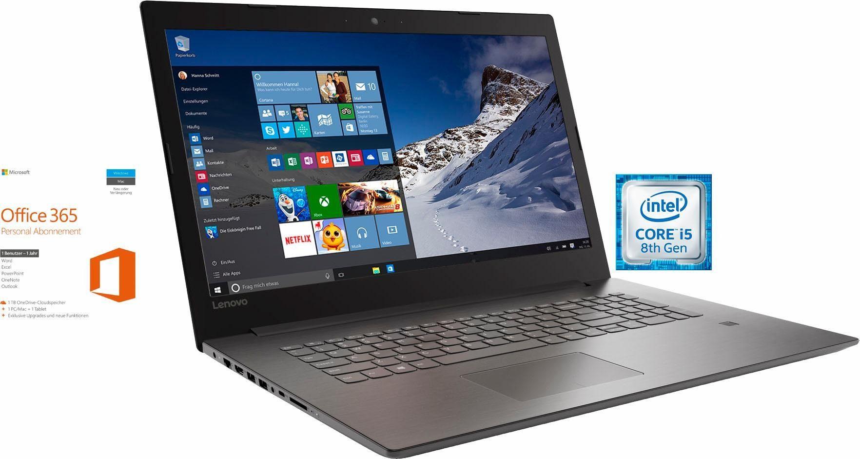 "Lenovo Ideapad 320 17"" Core i5 8250U Geforce MX150 3 Jahre Garantie"