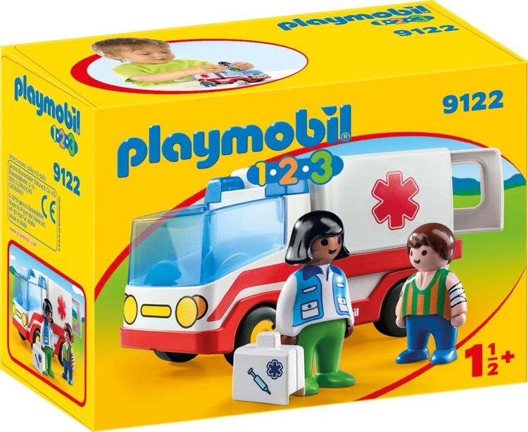 [Amazon.de] Playmobil 9122 - Rettungswagen ab 1,5 Jahren +