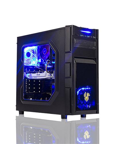 High Speed Game PC i5-8400 GTX-1070 Ti 16GB SSD240GB 2TB Win10 Pro