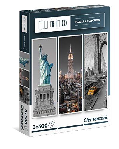 [Amazon Prime]  Clementoni 3x500Teile New York Puzzle
