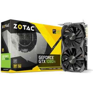 ZOTAC GeForce GTX 1080 Ti 1080ti Mini Aktiv PCIe 3.0 x16 (Retail)