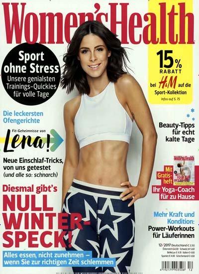 [Gruner+Jahr] Women's Health für 1 Jahr (10 Ausgaben) für 25€ mit 20€ Amazon-/BestChoice- oder Tank-Gutschein