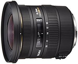 [Amazon] Sigma 10-20 mm F3,5 EX DC HSM-Objektiv (82 mm Filtergewinde, für Canon und Nikon Objektivbajonett)