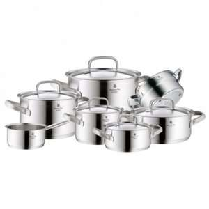 WMF Gourmet Plus Topf Set 7 tlg. bei Crowdfox - Alle Herde auch Induktion - Made In Germany