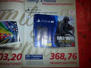 [Real] Family and Friends PS4 Pro mit Call of Duty WW2, am 15.12. + 16.12.2017