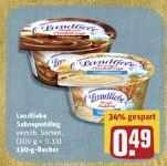 [Rewe] 3x Landliebe Sahnepudding & Grießpudding je 150g für 0,47€ (mit Scondoo + Coupies]