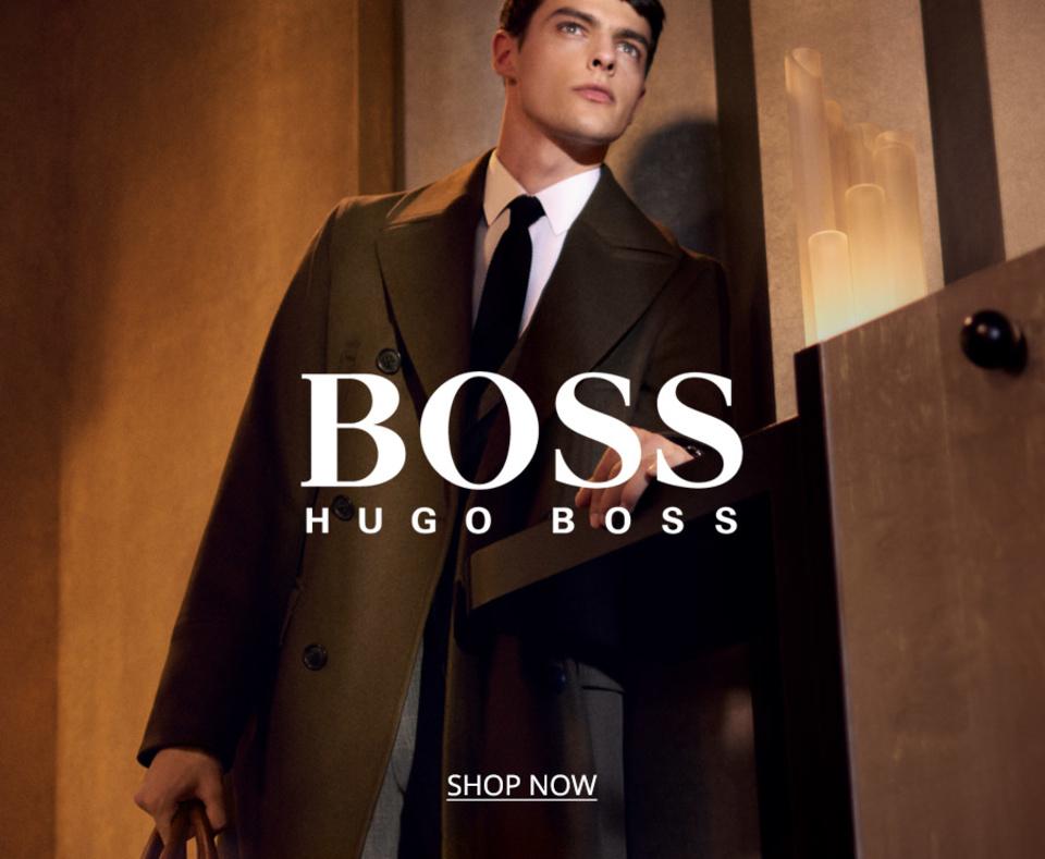 Hugo Anzüge aus Schurwolle