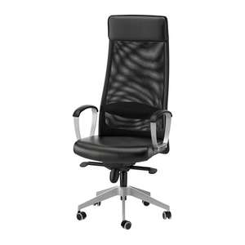 Bürostuhl, Schreibtischstuhl, IKEA Markus Bürostuhl, Glose schwarz, lokal IKEA Brinkum