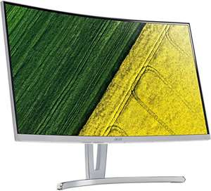 Amazon: Acer ED273 69 cm (27 Zoll) Monitor, 4 ms Reaktionszeit, Full HD, Curved VA Display) silber