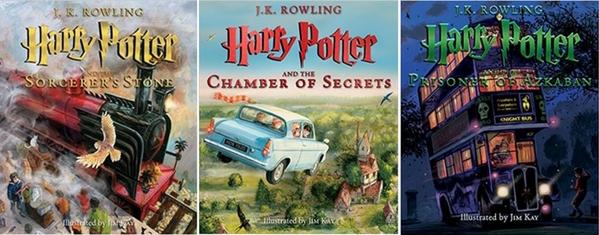 [Amazon.co.uk] Harry Potter - Illustrierte Editionen alle 3 (auf Englisch)