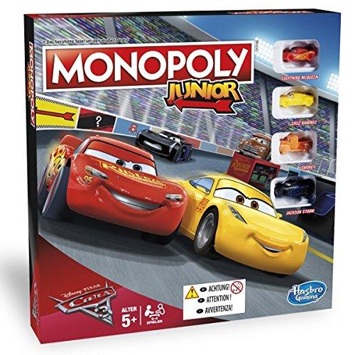 [Amazon Prime] Hasbro Monopoly Junior Cars 3