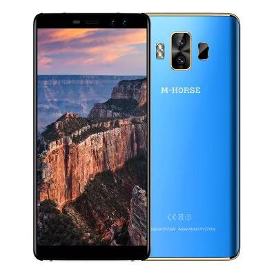 M-Horse Pure 1 mit Android 7.0, 5,7 Zoll HD+ 18:9 Display, Dual-Kamera vorne und hinten, 3GB RAM, 32GB Speicher, Band 20, 4380mAh Akku