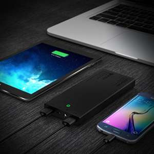 Hot Deal Amazon: 16000 mAH Powerbank QUICK Charge NUR BIS 23 Uhr.
