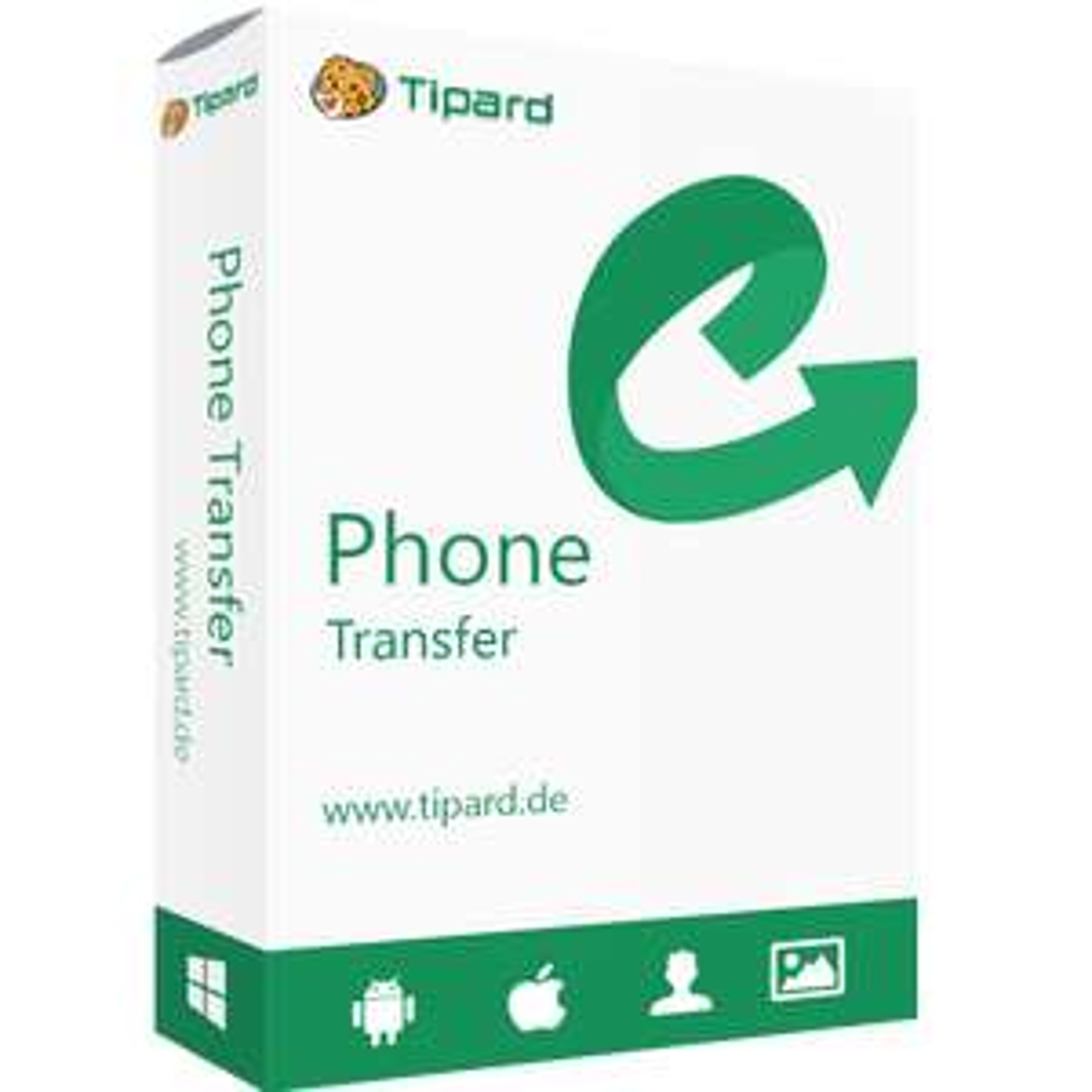 Tipard Phone Transfer - Jahreslizenz kostenlos