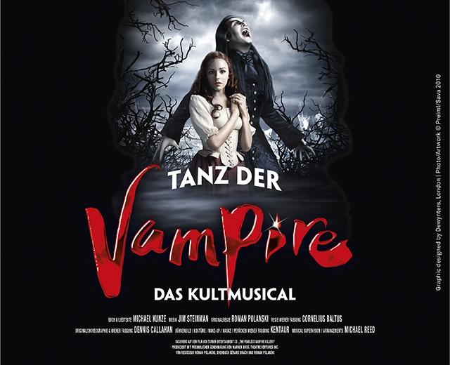 """12% Rabatt auf """"I am from Austria"""" und """"Tanz der Vampire"""" in Wien (für Vorstellungen ab dem 01.01)"""