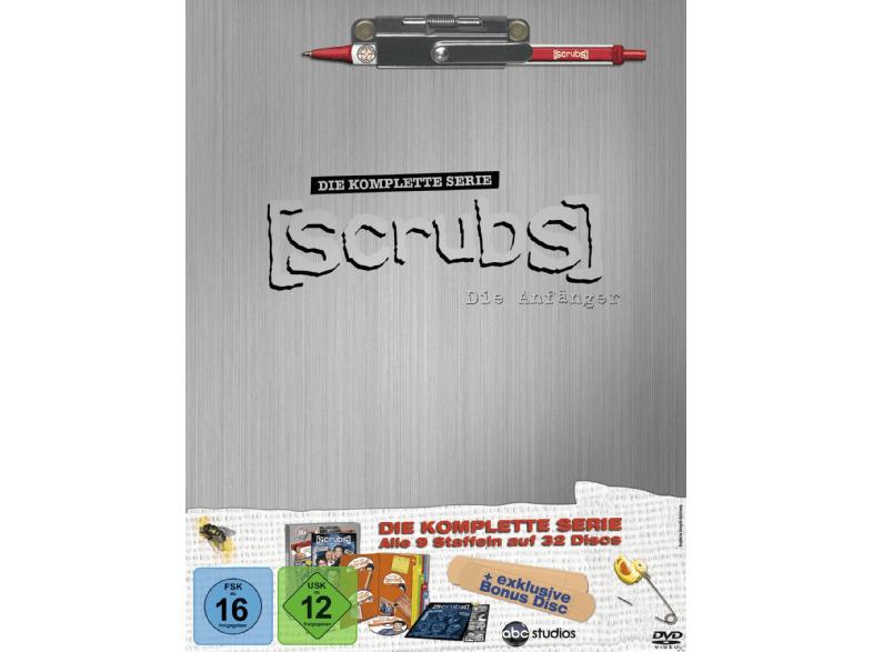 Scrubs - Komplettbox - Staffel 1-9 [DVD] (Media Markt Abholung + Amazon )