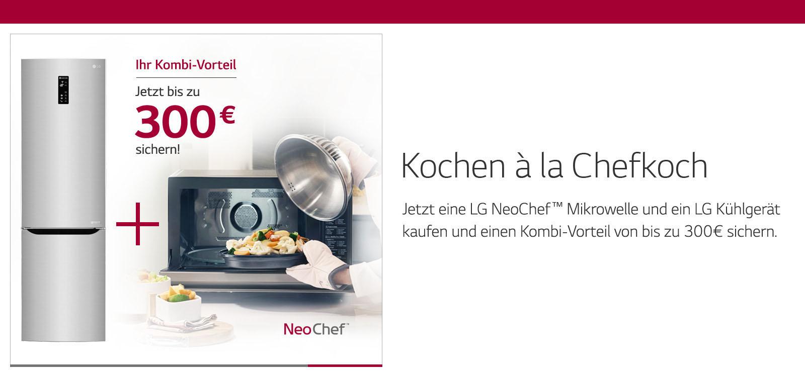 LG Kühl-/Gefrierkombination GBP20SWQFS + LG Mikrowelle mit Grill MH6535GIS (viele andere Kombinationen möglich)