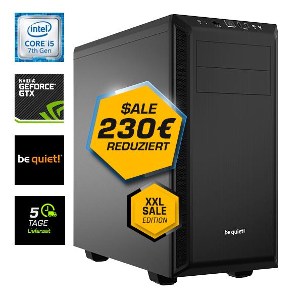 Gaming-PC - Core i5-8400, Gigabyte Z370, Palit GTX 1070, 275GB SSD, bequiet Gehäuse & Netzteil, 8GB RAM, WLAN