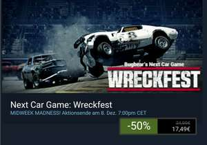 Steam: Bugbear's Next Car Game: WRECKFEST
