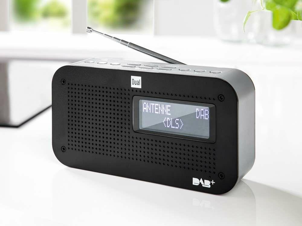 Dual Portables DAB+/UKW-Radio DAB71 für 29,99€ [Norma]