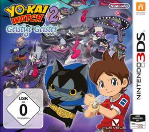 [Media Markt] Nintendo 3DS: YO-KAI WATCH 2: Geistige Geister, Pokemon Mond & Mario Sports Superstars in 3 für 2 Aktion