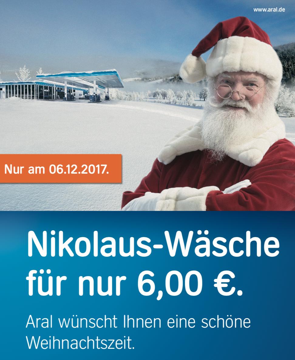 """[ARAL lokal Hövelhof & Paderborn] """"Nikolaus-Wäsche"""""""