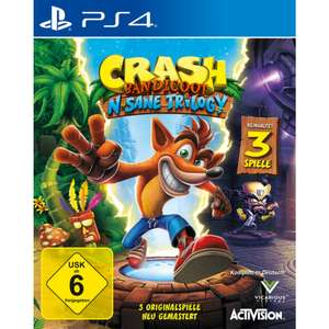 Crash Bandicoot N.Sane Trilogy (PS4) für 25,00€ (Müller + Amazon Prime)