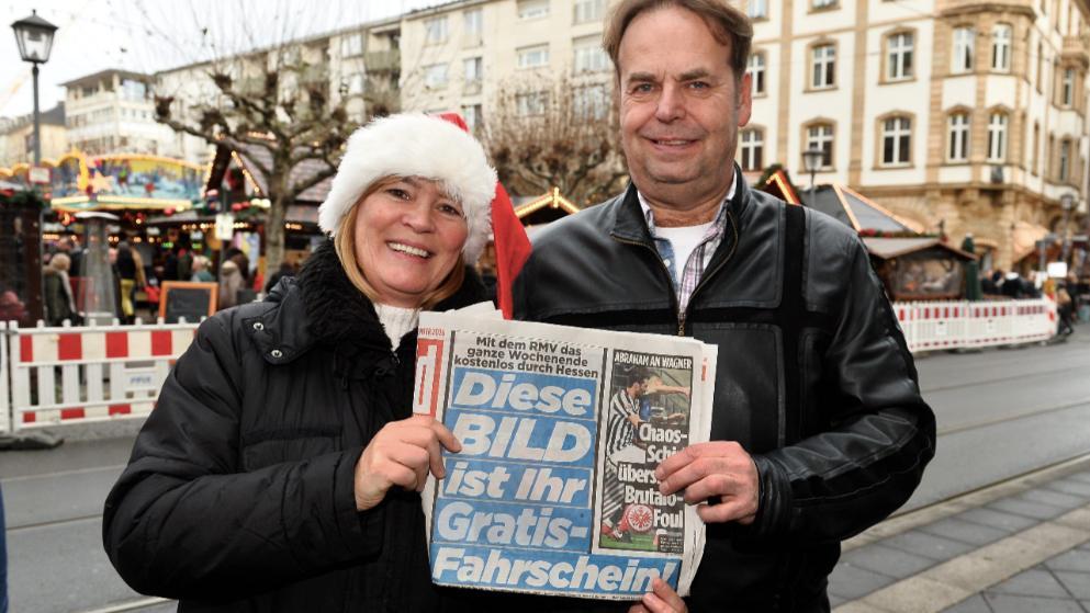 [Lokal Rhein-Main] Gratis-Wochenendticket für RMV beim Kauf einer Bildzeitung am 9.12.2017