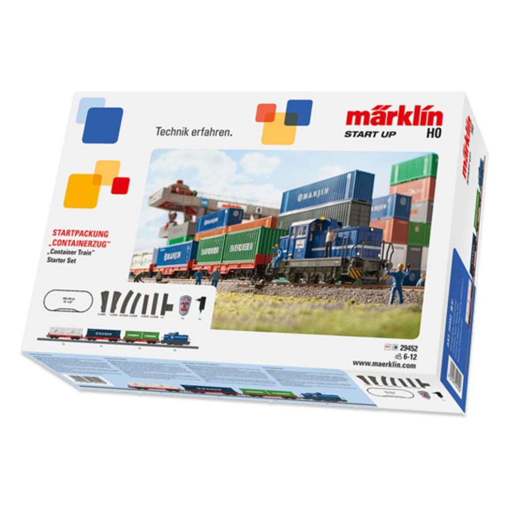 Märklin 29452 Starterpackung Containerzug