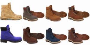 Timberland 6Inch Echt-Leder Boots 8 Farben@ebay