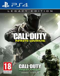 Call of Duty: Infinite Warfare (Legacy Edition inkl. Modern Warfare Remastered) (PS4 & Xbox One) für je 14,05€ (Game UK)