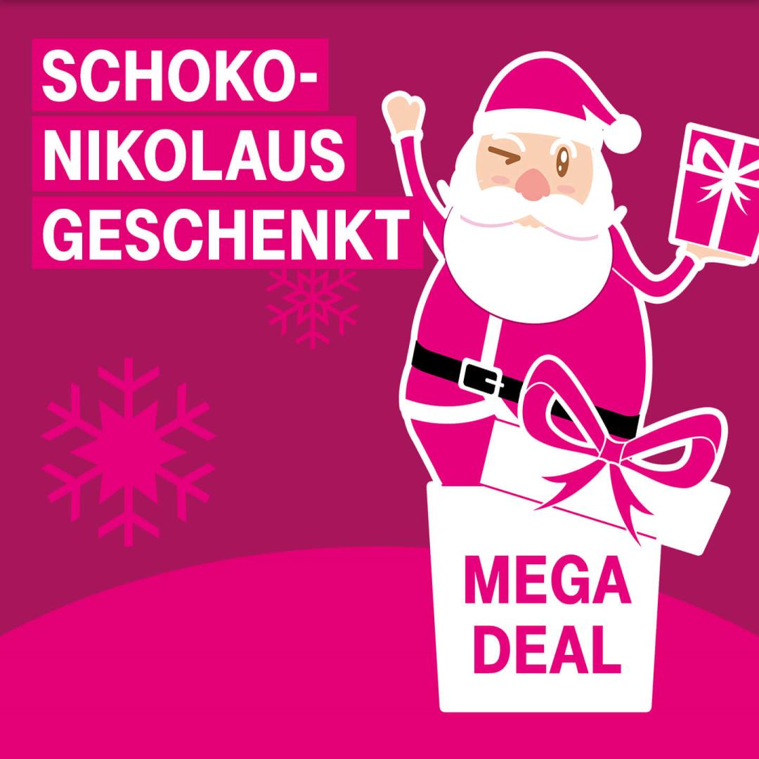 [Telekom Mega-Deal] Schokoladen-Nikolaus gratis