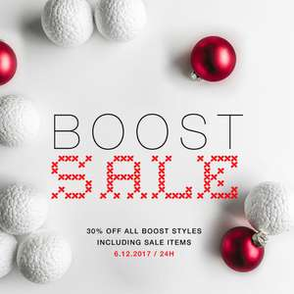 Solebox - SALE - 30% auf alle Boost Artikel