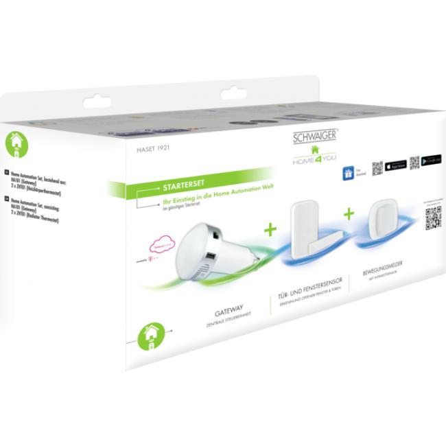"""HOME4YOU® Starterset """"Sicherheit"""" von Schwaiger bei OBI ( Smart Home mit Amazon Alexa Unterstützung)"""