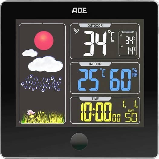 ADE Funk-Wetterstation WS 1603 Vorhersage für 12 bis 24 Stunden [voelkner]