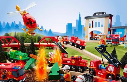 10% Rabatt auf Spielzeug bei [babymarkt] z.B. Brio Metro Bahn Set für 45,89€ // kiddimoto Laufrad für 48,50€