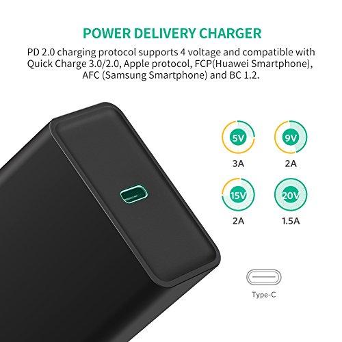Ugreen 30W Ladegerät mit Power Delivery für Apple Geräte und Quick Charge 3.0 für andere Geräte /// Schnelladen für alle