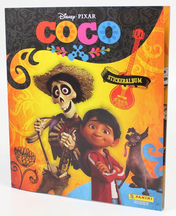"""Kostenloses Panini Album zum Film """"Coco"""""""