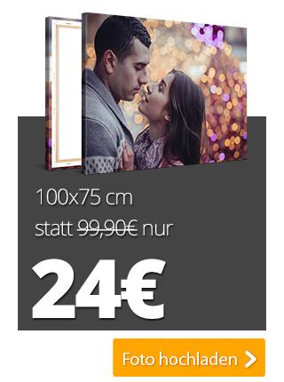XXL-Fotoleinwände zum Nikolaus z.B. 120x80cm für 24 + 6,90 € Versand [meinXXL]