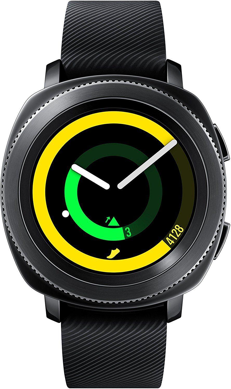 Samsung SM-R600 Gear Sport Fitnesswatch schwarz