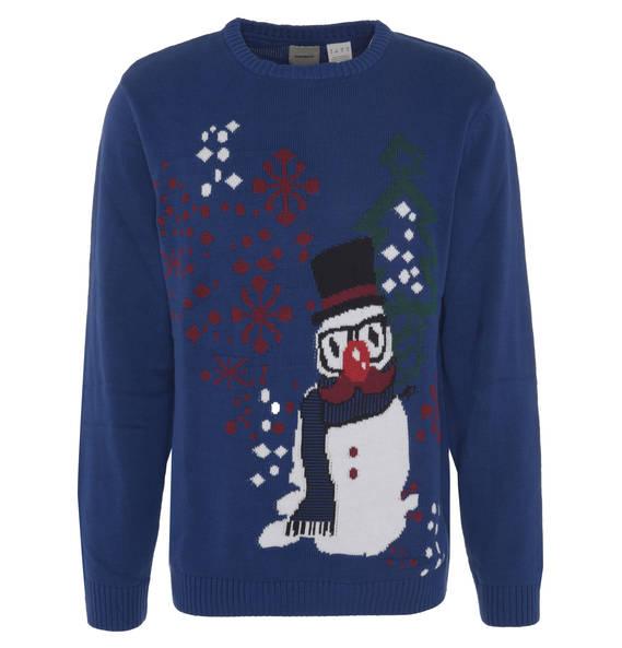 Manguun Pullover, Strick, weihnachtliches Motiv