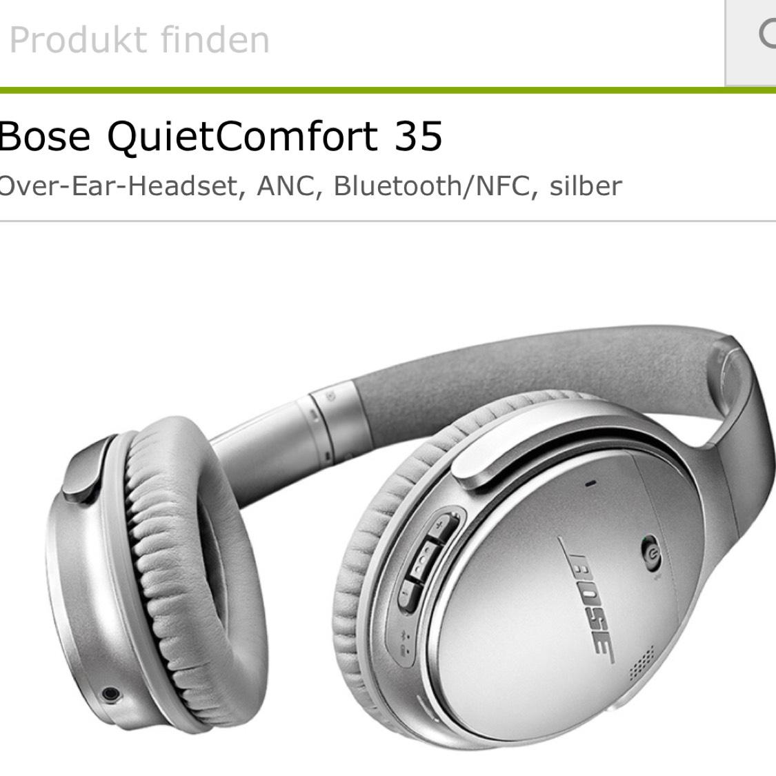 [Lokal Köln] Bose QC35 Silber für 199€
