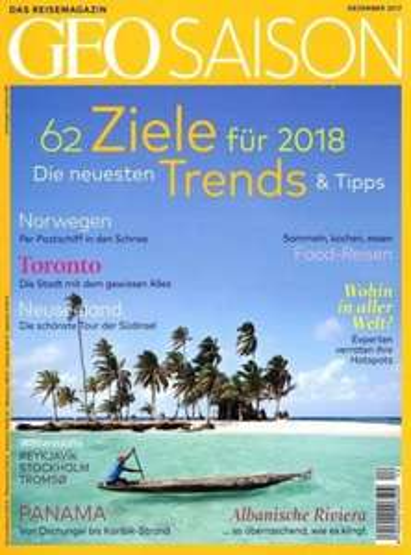 [Gruner+Jahr] GEO SAISON Magazin für 1 Jahr (12 Ausgaben) für 78€ mit 40€ Amazon-/oder BestChoice-Gutschein