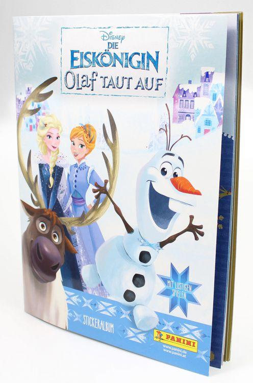 DIE EISKÖNIGIN - OLAF TAUT AUF STICKERKOLLEKTION - GRATIS ALBUM bei Paninishop