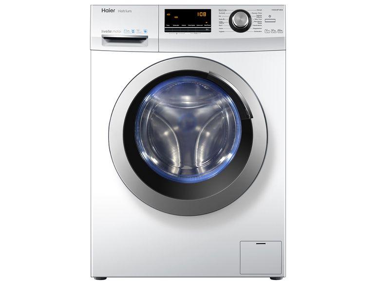 [Lidl.de] Haier Waschmaschine HW80-BP14636, A+++, 8kg, 1400U/min mit 15%-Gutschein aus Adventskalender
