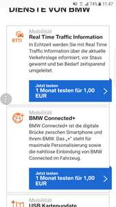 Dienste von BMW / BMW Connected drive